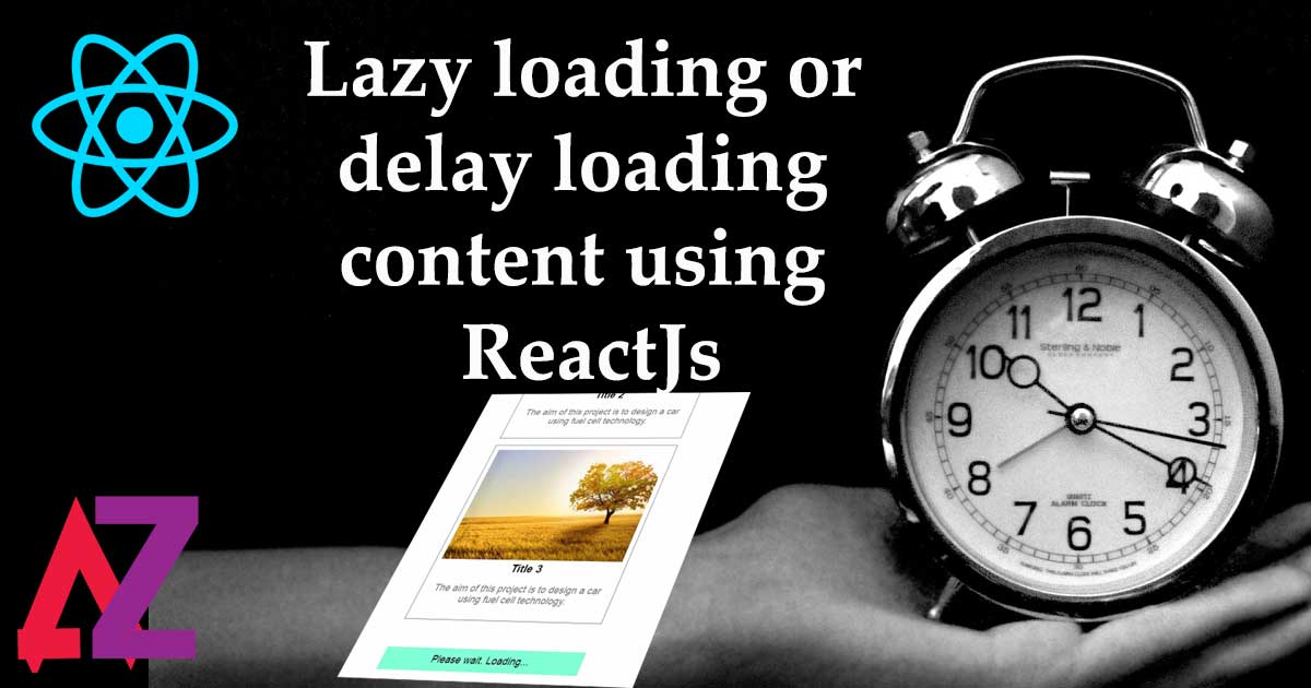 Auto load / Lazy Load using Reactjs like Facebook timeline